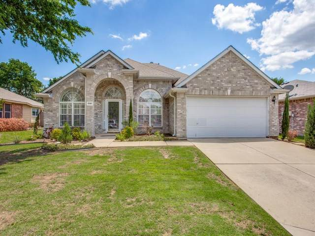 8140 Montecito Drive, Denton, TX 76210 (MLS #14577858) :: Real Estate By Design