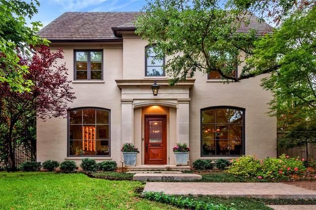 4209 Shenandoah Street, University Park, TX 75205 (MLS #14578285) :: The Mitchell Group