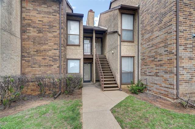 1904 Cloisters Drive #412, Arlington, TX 76011 (MLS #14578602) :: The Tierny Jordan Network