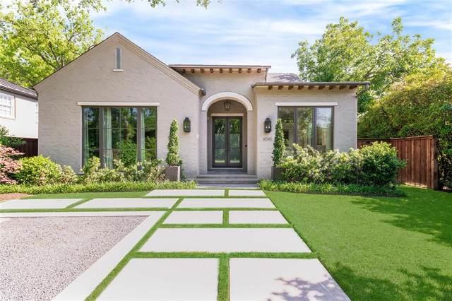 4045 Glenwick Lane, University Park, TX 75205 (MLS #14578733) :: The Property Guys