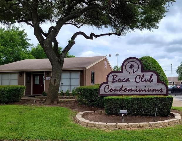 5538 Boca Raton Boulevard #173, Fort Worth, TX 76112 (MLS #14578822) :: Rafter H Realty
