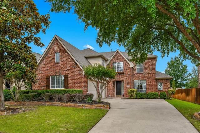 10119 Deerfield Drive, Frisco, TX 75033 (MLS #14579230) :: Real Estate By Design