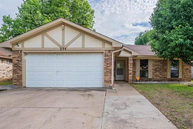334 Juniper Drive, Arlington, TX 76018 (MLS #14579565) :: Rafter H Realty