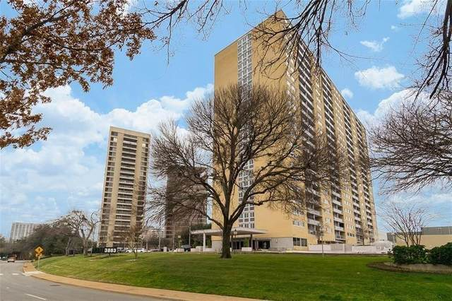 3883 Turtle Creek Boulevard #116, Dallas, TX 75219 (MLS #14579632) :: Robbins Real Estate Group