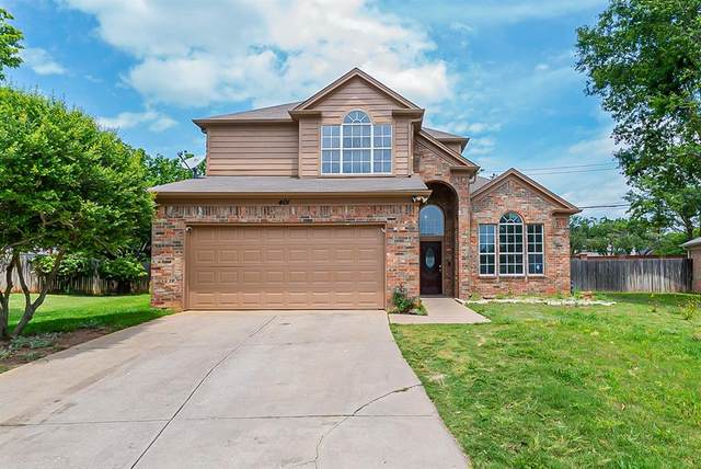 401 Attaway Drive, Euless, TX 76039 (MLS #14579655) :: Bray Real Estate Group