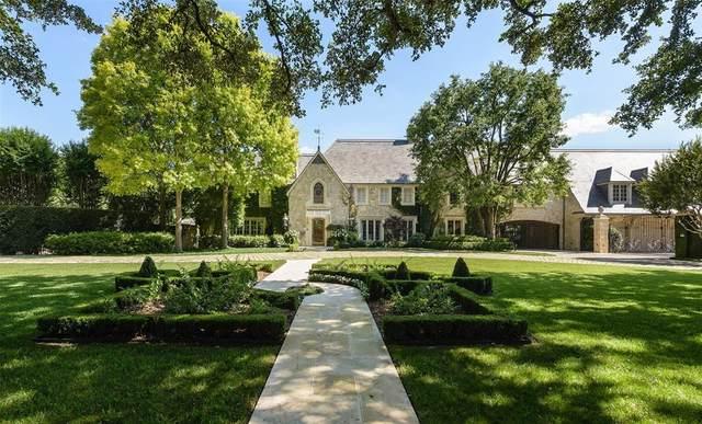 6767 Hunters Glen Road, University Park, TX 75205 (MLS #14580295) :: The Hornburg Real Estate Group