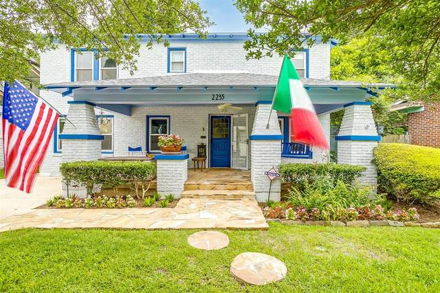 2235 Mistletoe Boulevard, Fort Worth, TX 76110 (MLS #14580396) :: Real Estate By Design
