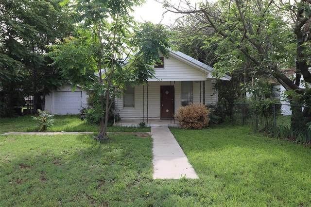 203 S 2nd Street, Bangs, TX 76823 (MLS #14580775) :: The Tierny Jordan Network