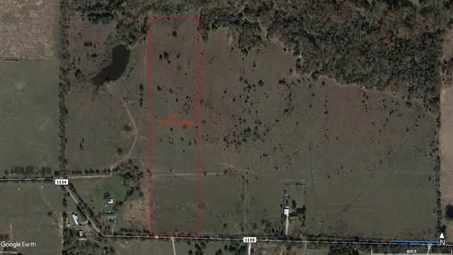 Lot 1 County Road 1134, Lone Oak, TX 75454 (MLS #14580787) :: Real Estate By Design