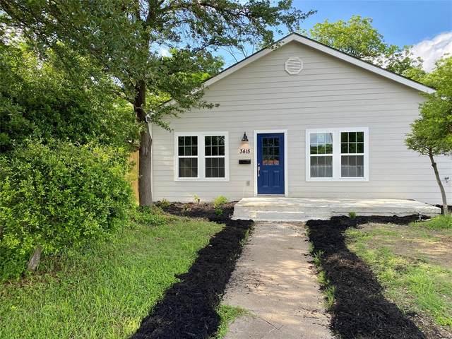 3415 Mclean Street, Fort Worth, TX 76103 (MLS #14580811) :: Real Estate By Design