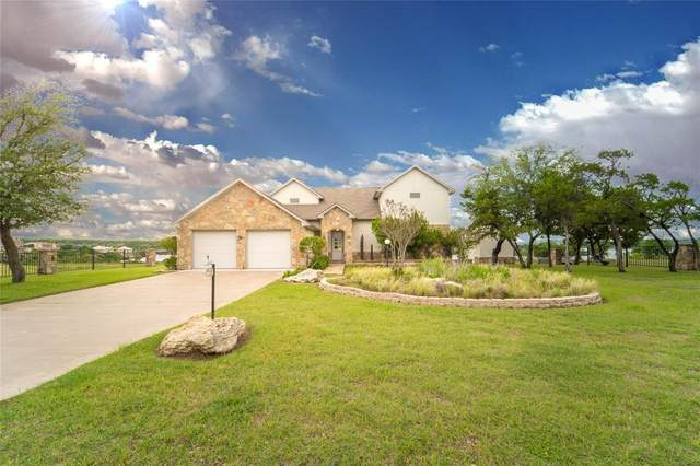 1021 Bluff Creek Point, Possum Kingdom Lake, TX 76475 (MLS #14581009) :: The Good Home Team