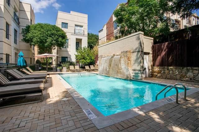 3210 Carlisle Street #38, Dallas, TX 75204 (MLS #14581292) :: EXIT Realty Elite
