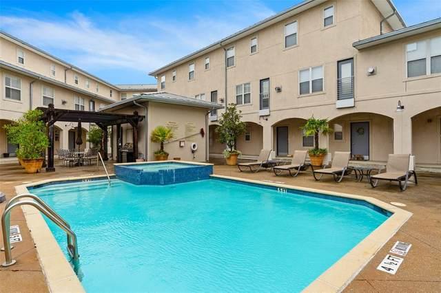 3922 Gilbert Avenue #110, Dallas, TX 75219 (MLS #14581328) :: Trinity Premier Properties