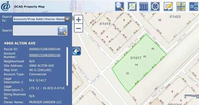 4960 Alton Avenue, Dallas, TX 75214 (MLS #14582315) :: Craig Properties Group