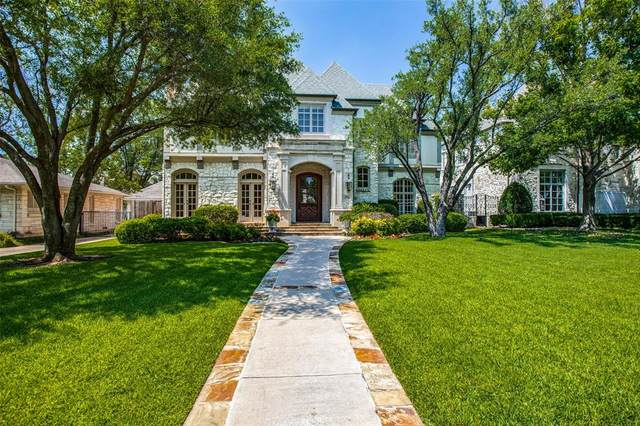 3804 Wentwood Drive, University Park, TX 75225 (MLS #14582365) :: Keller Williams Realty