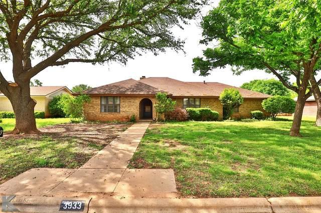 3933 High Meadows Drive, Abilene, TX 79605 (MLS #14582540) :: Real Estate By Design