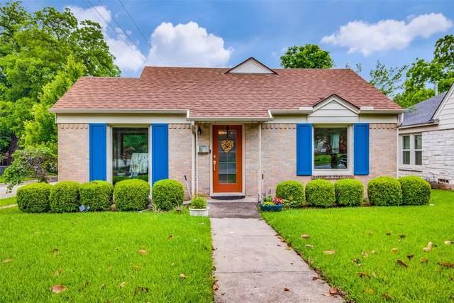 1143 Elmhurst Place, Dallas, TX 75224 (MLS #14583102) :: Real Estate By Design