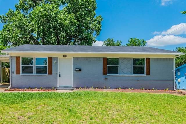 1121 Cherrywood Drive, Garland, TX 75040 (MLS #14583400) :: The Good Home Team