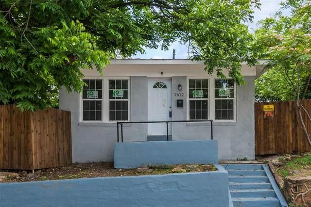 2612 Harwood Street, Fort Worth, TX 76103 (MLS #14583435) :: The Chad Smith Team