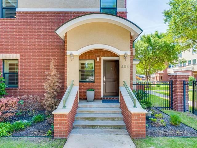 1207 Beaconsfield Lane #404, Arlington, TX 76011 (MLS #14583735) :: The Chad Smith Team