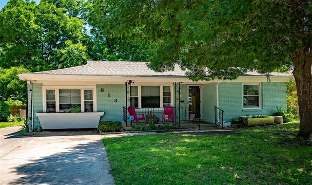 813 Odie Drive, White Settlement, TX 76108 (MLS #14584399) :: Real Estate By Design