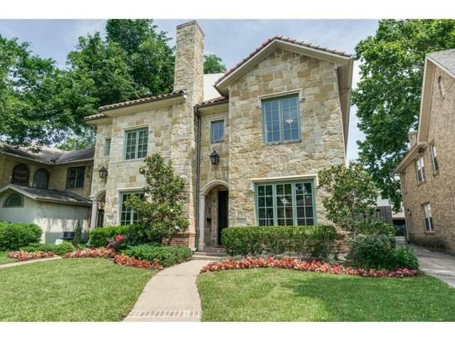 3528 Asbury Street, University Park, TX 75205 (MLS #14584905) :: Real Estate By Design