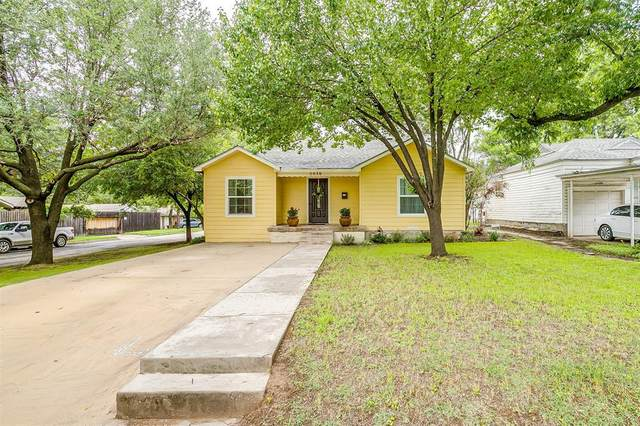 5036 Lovell Avenue, Fort Worth, TX 76107 (MLS #14585019) :: The Russell-Rose Team
