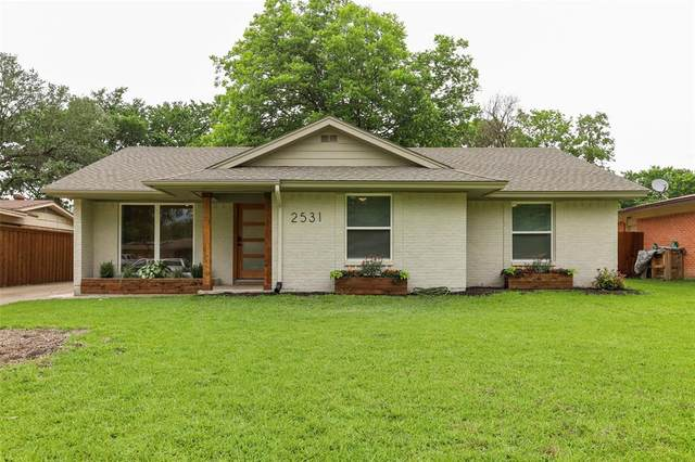 2531 Highwood Drive, Dallas, TX 75228 (MLS #14585562) :: Real Estate By Design