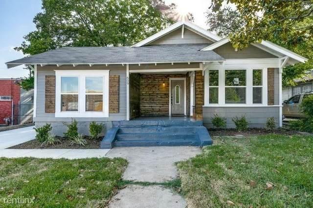 609 N Edgefield Avenue, Dallas, TX 75208 (MLS #14585619) :: The Heyl Group at Keller Williams