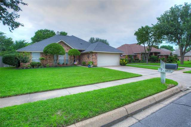 6413 Westgate Drive, North Richland Hills, TX 76182 (MLS #14585975) :: Front Real Estate Co.