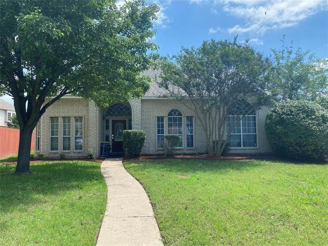 843 Big Thicket Trail, Mesquite, TX 75149 (MLS #14585994) :: Real Estate By Design