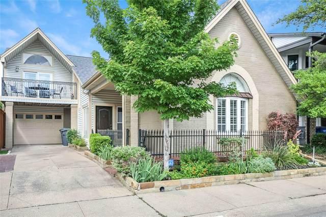 920 Pavillion Street, Dallas, TX 75204 (MLS #14586028) :: Real Estate By Design