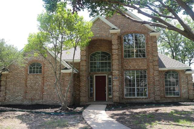 8105 Pacific Street, Frisco, TX 75035 (MLS #14586159) :: The Hornburg Real Estate Group