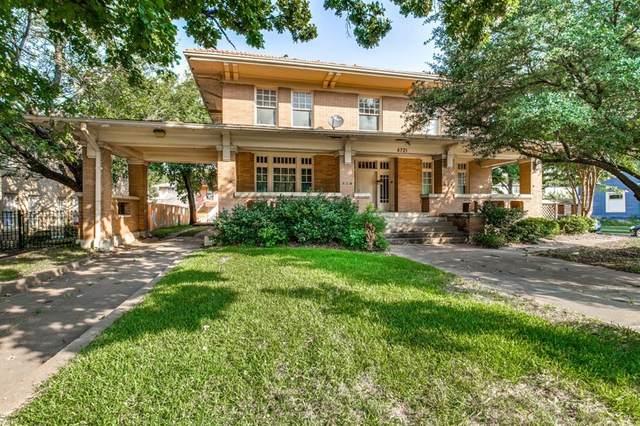 4721 Gaston Avenue, Dallas, TX 75246 (MLS #14586431) :: Trinity Premier Properties