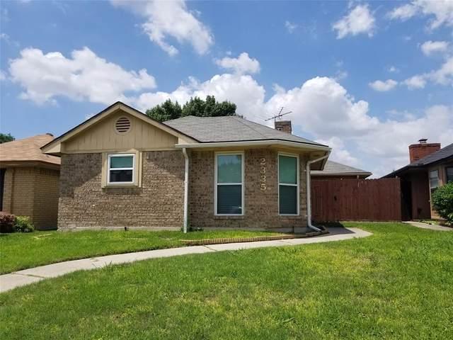 2335 Ridgestone Drive, Dallas, TX 75287 (MLS #14586659) :: The Heyl Group at Keller Williams