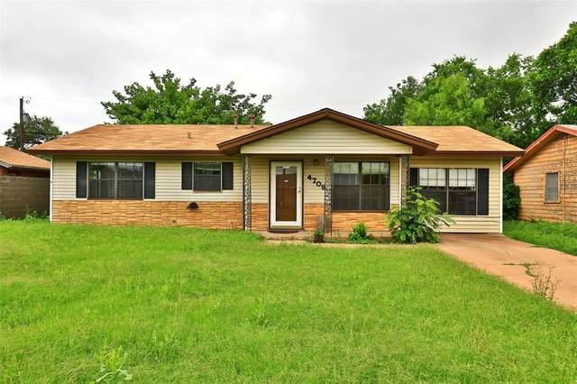 4709 N 7th Street, Abilene, TX 79603 (MLS #14587087) :: Real Estate By Design