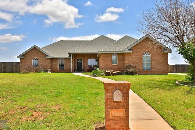 157 Browning Road, Tuscola, TX 79562 (MLS #14587545) :: The Russell-Rose Team
