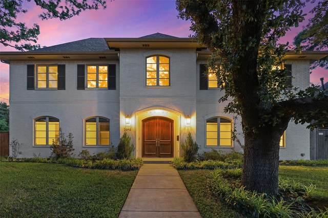 3646 Regent Drive, Dallas, TX 75229 (MLS #14587665) :: HergGroup Dallas-Fort Worth
