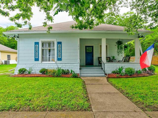 1412 N Robinson Street, Cleburne, TX 76031 (MLS #14588121) :: VIVO Realty