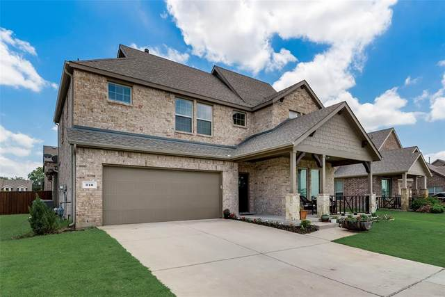 240 Gorgeous Road, Prosper, TX 75078 (MLS #14588200) :: Real Estate By Design