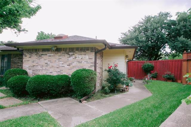 2929 Allister Street, Dallas, TX 75229 (MLS #14588636) :: Real Estate By Design