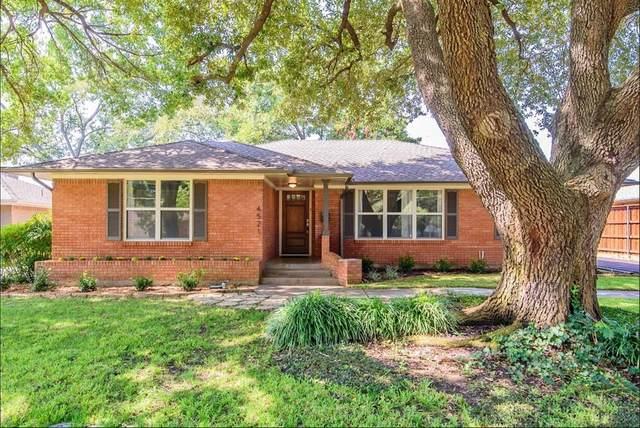 4521 Ashford Drive, Dallas, TX 75214 (MLS #14589169) :: Real Estate By Design