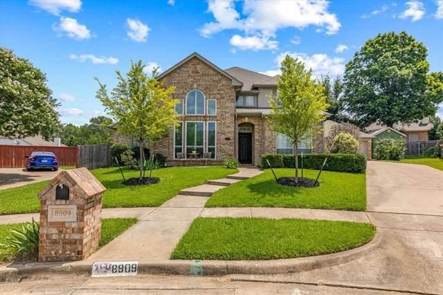 8809 Hedge Row Court, North Richland Hills, TX 76182 (MLS #14589255) :: Team Hodnett
