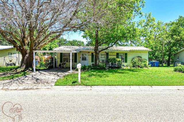 218 Bryant Road, Clyde, TX 79510 (MLS #14589256) :: Real Estate By Design