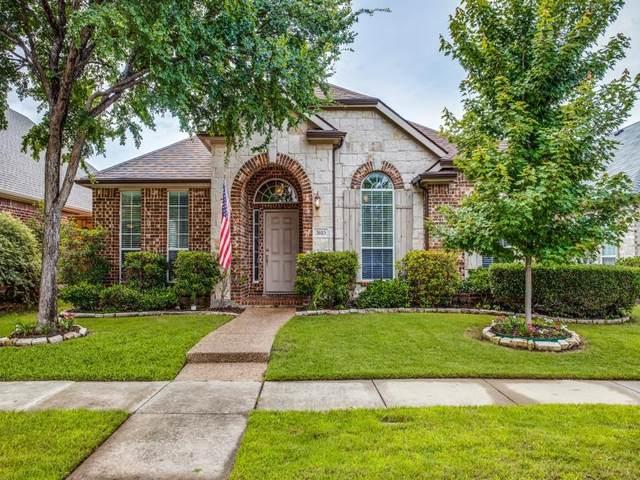 3615 Jefferson Drive, Frisco, TX 75034 (MLS #14589355) :: Real Estate By Design