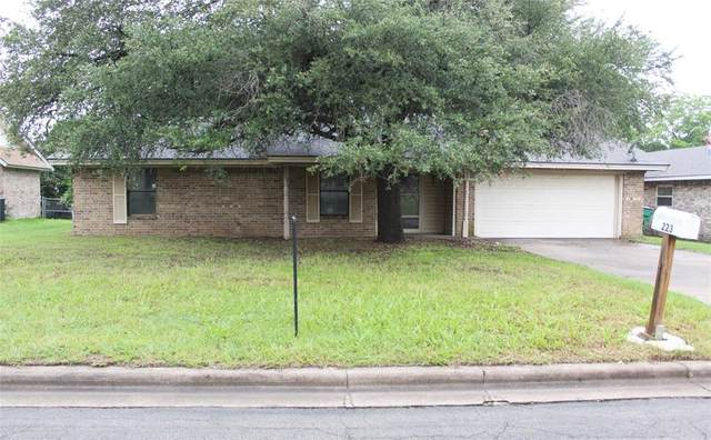 223 Sharp Drive, Stephenville, TX 76401 (MLS #14589372) :: The Property Guys