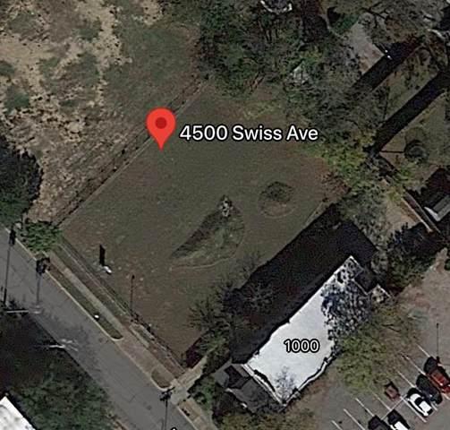 4500 Swiss Avenue, Dallas, TX 75204 (MLS #14590363) :: Team Tiller
