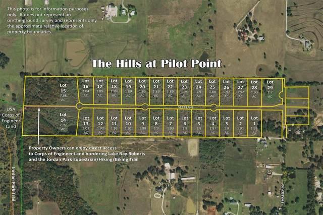 745 Vest Lane, Pilot Point, TX 76258 (MLS #14590369) :: The Daniel Team