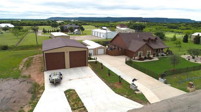 157 Lunar View Drive, Tuscola, TX 79562 (MLS #14590918) :: The Russell-Rose Team