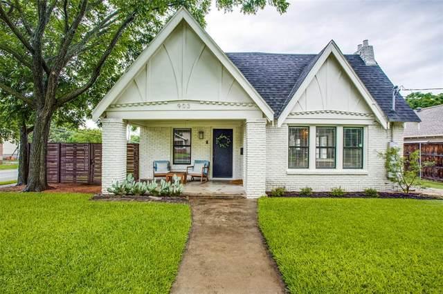 903 N Montclair Avenue, Dallas, TX 75208 (MLS #14590985) :: The Kimberly Davis Group